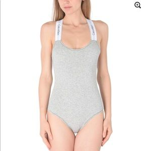 SOLD CALVIN KLEIN UNDERWEAR Bodysuits XS Gray $73